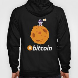 Bitcoin BTC Crypto to the Moon Shirt Featuring Astronaut T-Shirts and hoodies Hoody