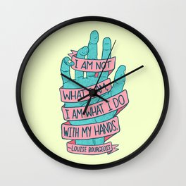 What I Am Wall Clock