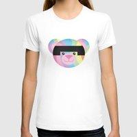 bondage T-shirts featuring Classic Rainbow Bondage Bear by YOSH FRIDAY