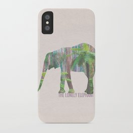 The Lonely Elephant iPhone Case