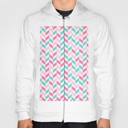 down arrow pattern Hoody