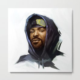 Method Man Metal Print