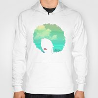 afro Hoodies featuring Afro by Studio Samantha