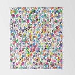 Cuben Colour Craze Throw Blanket