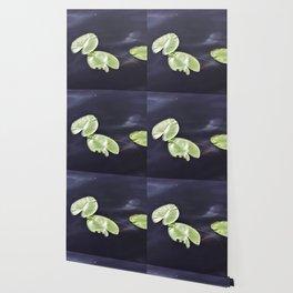 Waterlily pads Wallpaper