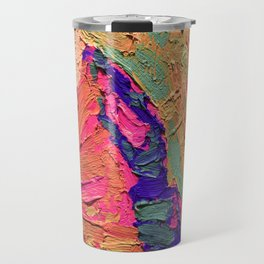 Brush Strokes Travel Mug