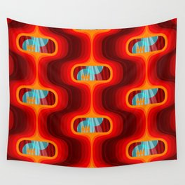 Red Velvet Wall Tapestries Society6