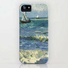 Seascape near Les Saintes-Maries-de-la-Mer iPhone Case