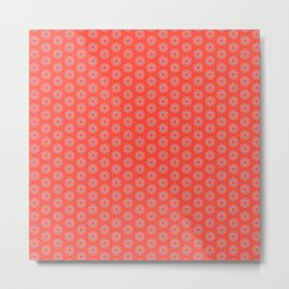 Hexafoil Pattern Metal Print