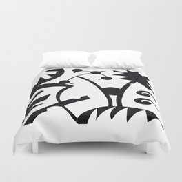 Abstract Jungle Duvet Cover