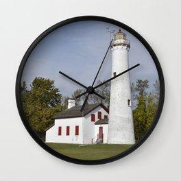 Sturgeon Point Lighthouse Wall Clock
