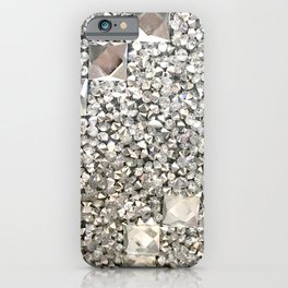 Diamond Chips Pattern iPhone Case