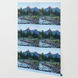 Pilot Peak - Mountain Scenery at Sunrise in Northeastern Yellowstone Wallpaper