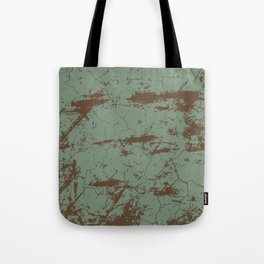 cracked concrete vintage wall background,old wall Tote Bag