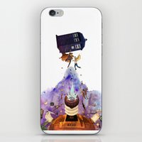 doctor who iPhone & iPod Skins featuring Doctor Who by Anthony Wallace