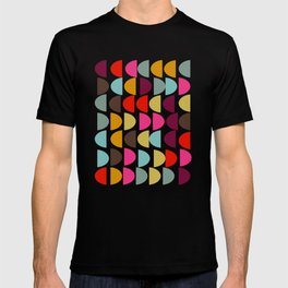 Geometric in Bright Fall Colors T-shirt