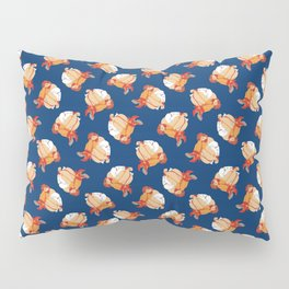 Blue Bondage Pillow Sham