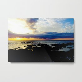 Hawaii sunset Metal Print
