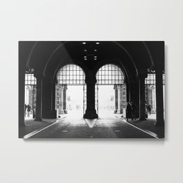 Amsterdam streets - Rijksmuseum Metal Print