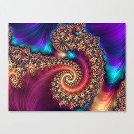 The Infinite Rainbow Canvas Print