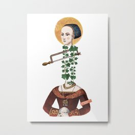 Off with her head (witch) Metal Print