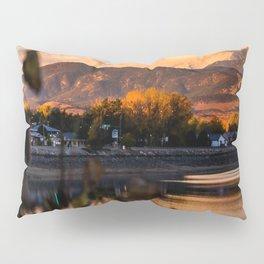 Crisp Rocky Mountain Morning Pillow Sham