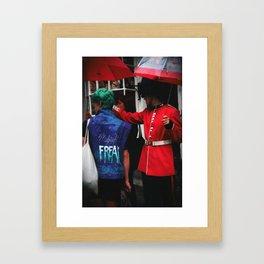 London Freak Framed Art Print