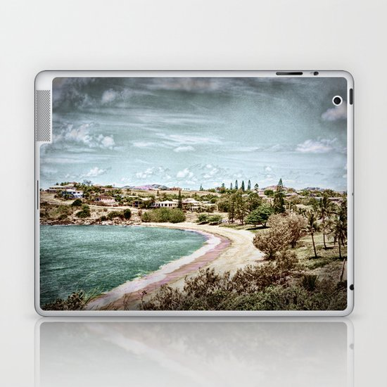 Living by the ocean Laptop & iPad Skin