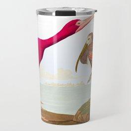 Scarlet Ibis Bird Travel Mug