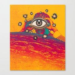...TUNE IN... Canvas Print