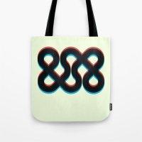 3d Tote Bags featuring 3d && by pixel.pwn | AK
