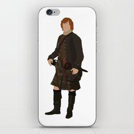 Jamie Fraser iPhone Skin