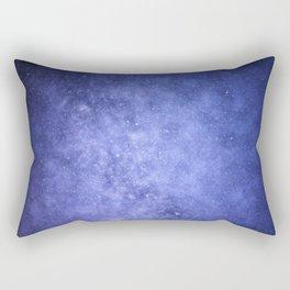 Light Purple Galaxy Rectangular Pillow