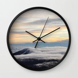 Haleakala Sunrise Pt. 3 Wall Clock