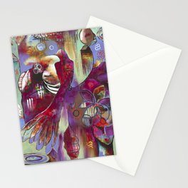 """""""Manifest"""" Original Painting by Flora Bowley Stationery Cards"""