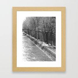 Springtime in Paris Framed Art Print