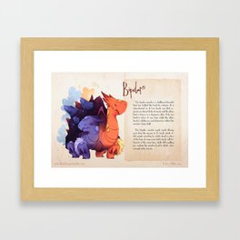 Real Monsters- Bipolar Framed Art Print
