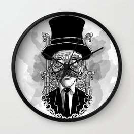 Steampunk Man Wall Clock