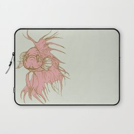 A fish that fights Laptop Sleeve