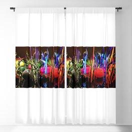 AllenbyArt Artistic glass Landscape Scenery of Beautiful Sculpture, Studio Glass, Seattle Center, Photography,  Blackout Curtain