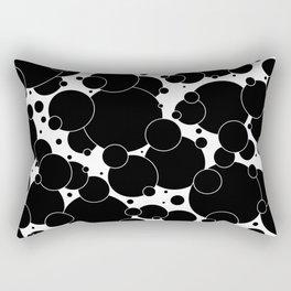 Black And White Pop 1 Rectangular Pillow