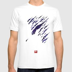 Mass Effect 3 (w/quote) Mens Fitted Tee X-LARGE White