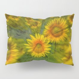 SUNFLOWERS 5 Pillow Sham