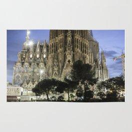 Sagrada Familia / Gaudí-Barcelona Rug