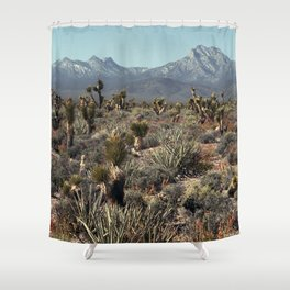 Cold Creek, Nevada Shower Curtain