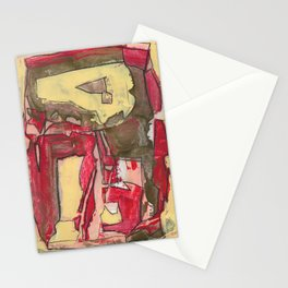 Ice Cream and Cigarettes Modern Abstract Fine Art Stationery Cards