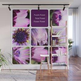 Purple Power Wall Mural