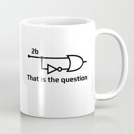 To Be Or Not To Be Electrical Engineering Coffee Mug