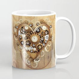 Steampunk Heart Love Coffee Mug
