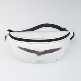 Gorgeous Bald Eagle in May Fanny Pack